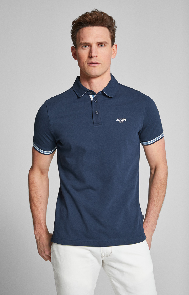 Polo-Shirt Spector in Navy