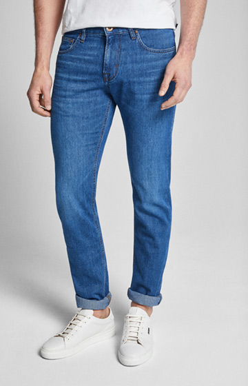 CANDIANI Jeans Mitch in Hellblau