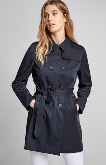 Trenchcoat Casy in Navy