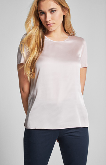 Jersey T-Shirt Tani in Rose