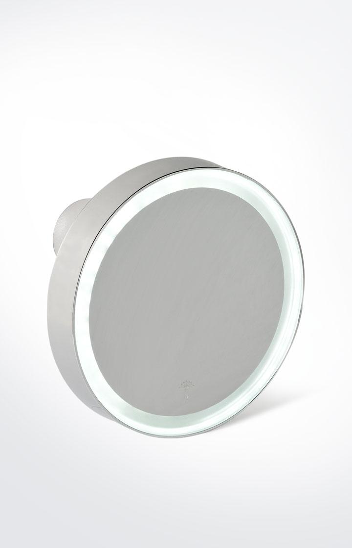 Nice: Vergrößerungsspiegel Chromeline Silber