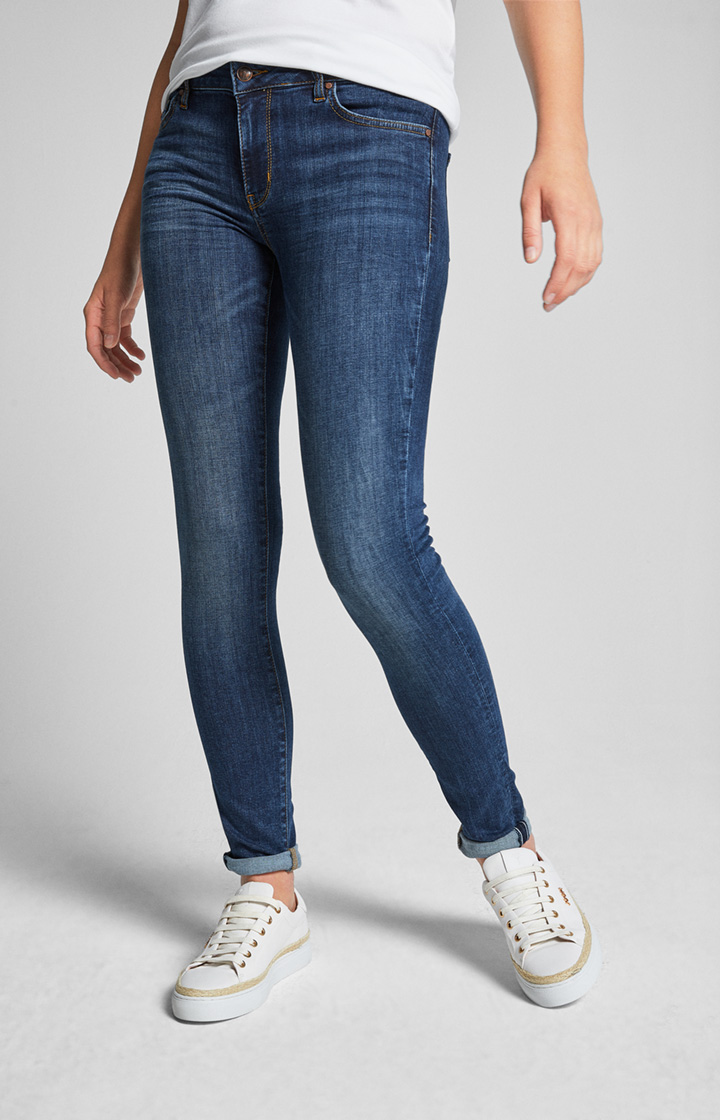 Jeans Sue in Washed Blue