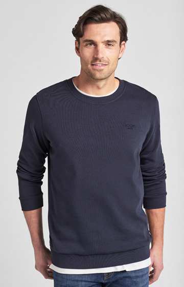 Sweatshirt Alf in Navy