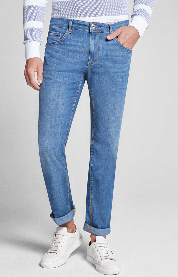 Jeans Roy in Original Indigo light Blue