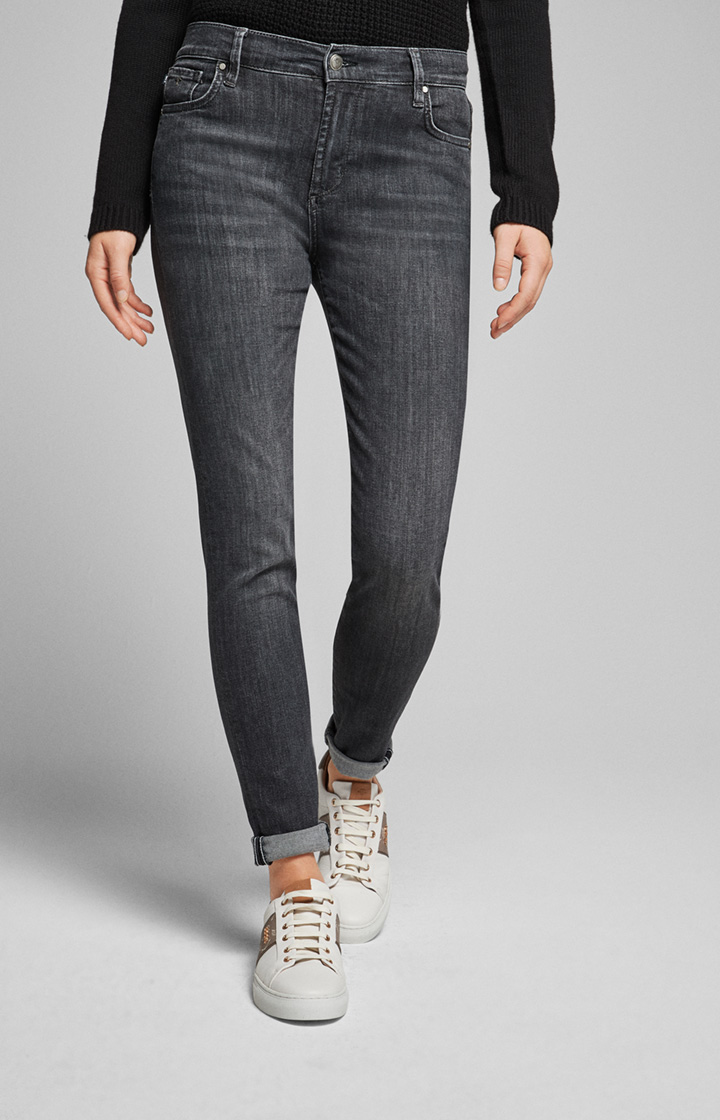 Jeans Sol in Washed Anthrazit
