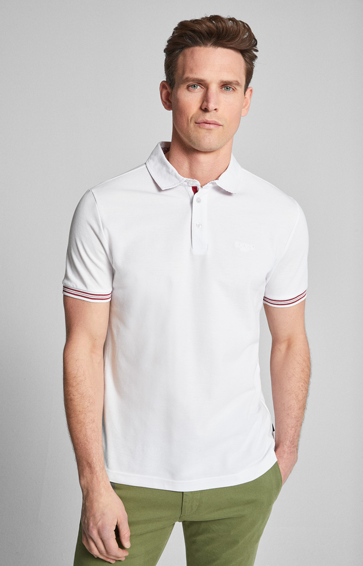 Polo-Shirt Spector in Weiß