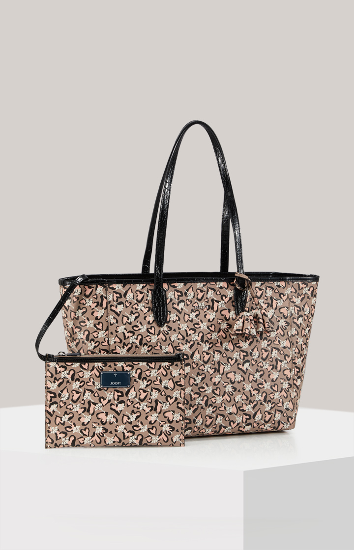 Cortina Amore Carmen Shopper in Taupe