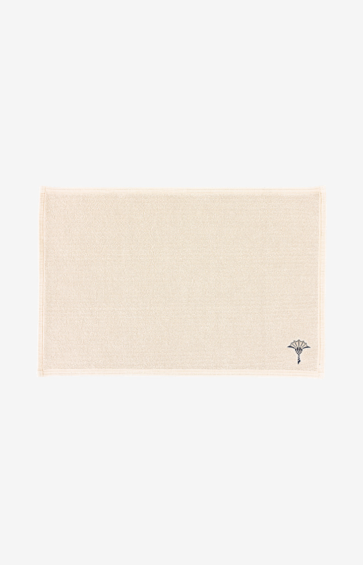 Badteppich Cornflower Single (50 x 70 cm) in Natur-Beige