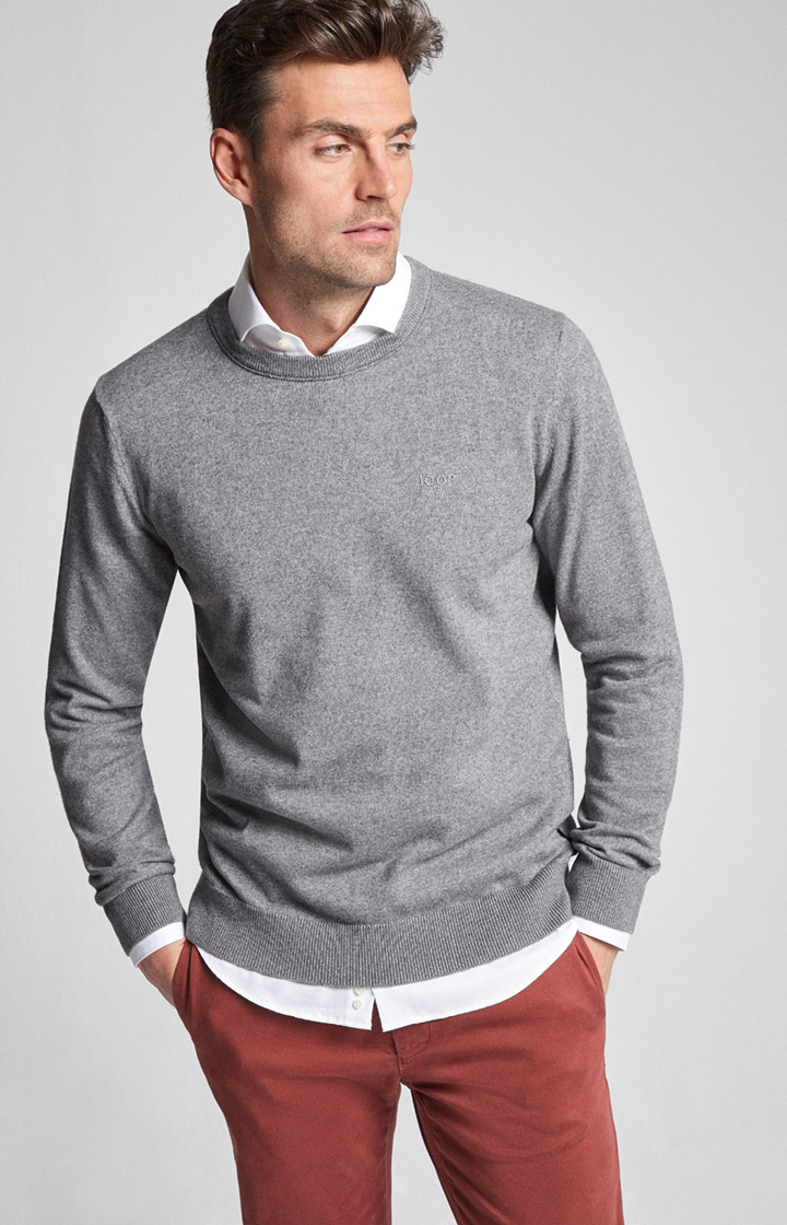 Pullover Bruce in Silber