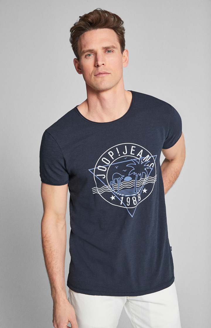 T-Shirt Carlito in Navy