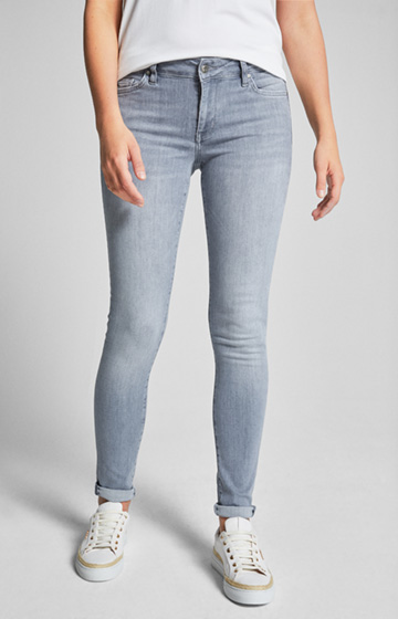 Jeans Sue in Grau