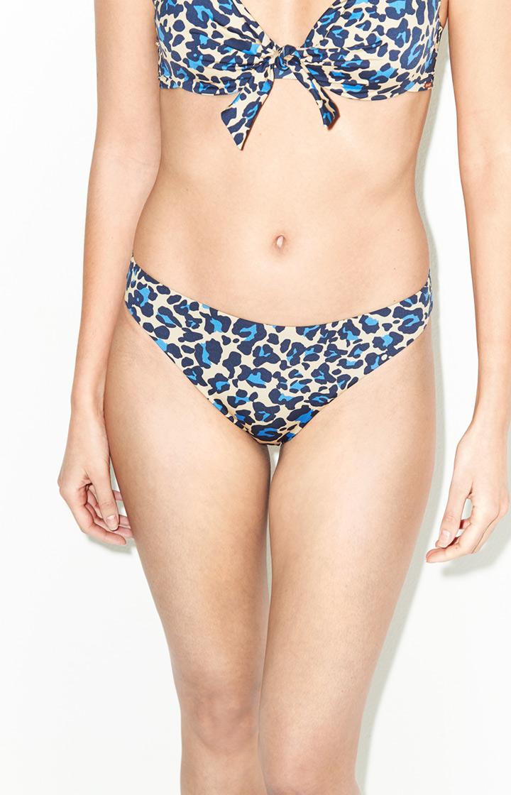Image of Bikini-Hose Paros in Blau/Hellbraun gemustert