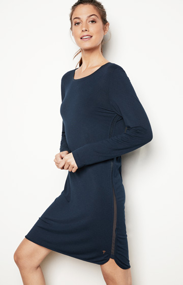 Loungewear Bigshirt in Navy