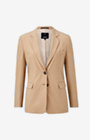 Long-Blazer Jessie in Medium Beige