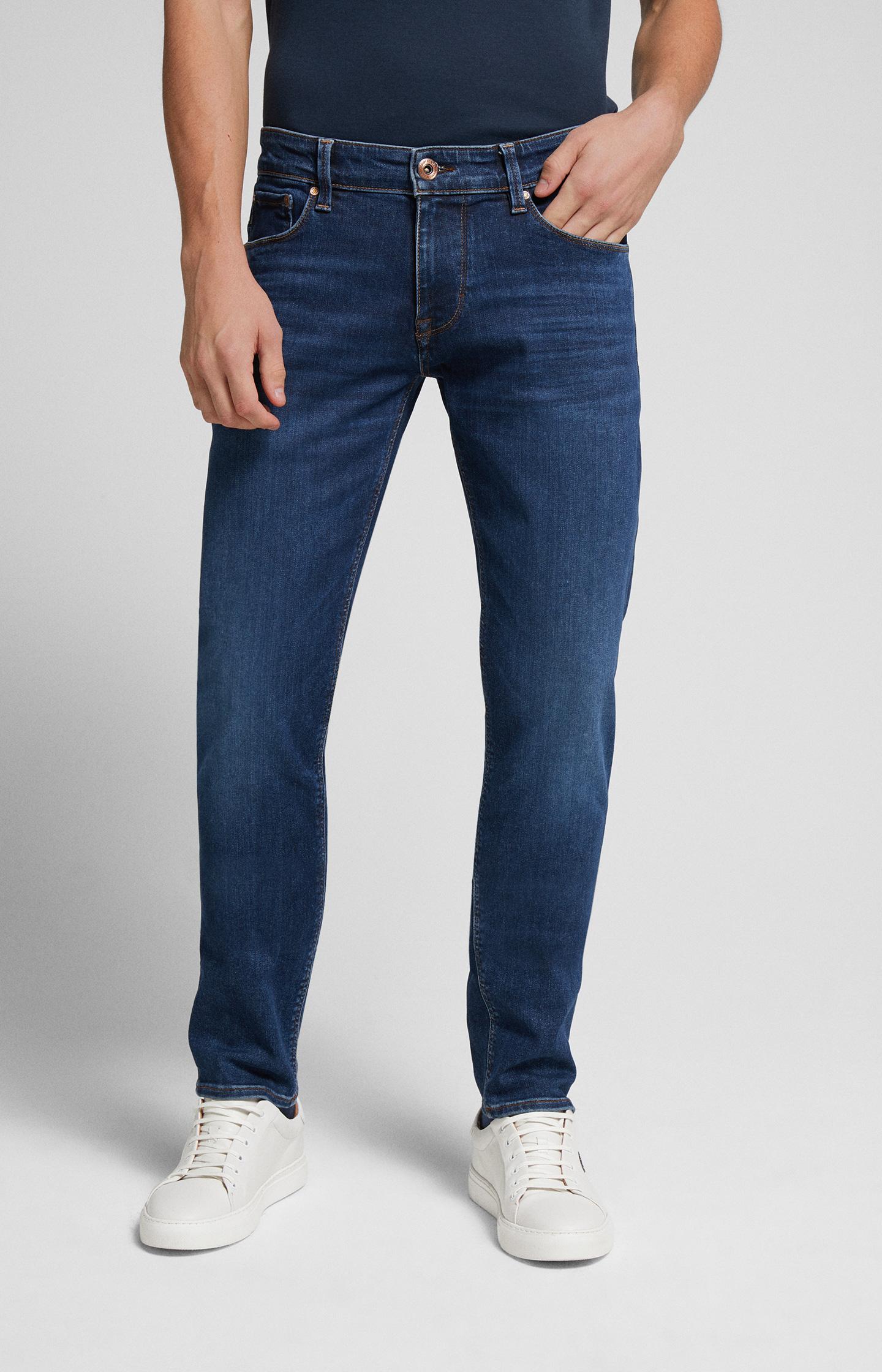 Artikel klicken und genauer betrachten! - Hohe Flexibilität trifft bei den Jeans Stephen auf ein entspanntes Design in leicht ausgewaschenem Navy. Sie ist superstretchig, formbeständig, soft und somit der ideale JOOP! JEANS Style für jeden Tag. Dabei unterstreichen die authentischen Tragefalteneffekte und farblich abgesetzte Steppungen den legeren 5-Pocket-Look.   im Online Shop kaufen