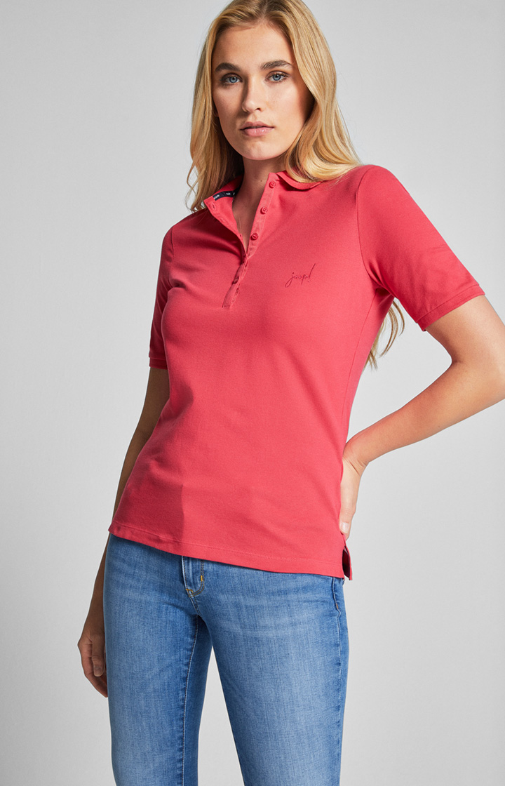Poloshirt Thea in Pink