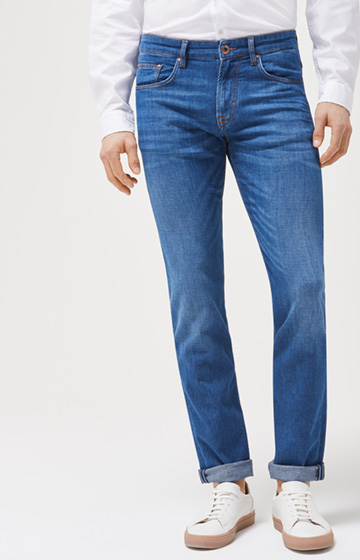 Jeans Mitch in Mittelblau