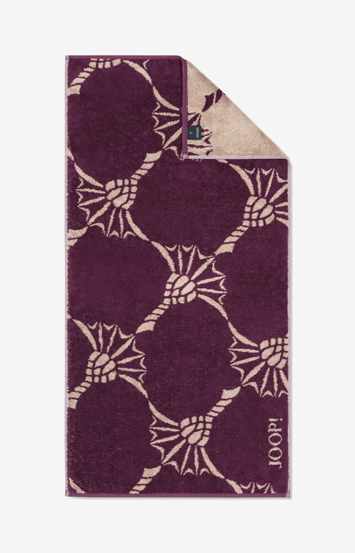 Frottierserie JOOP! INFINITY Cornflower Zoom in Plum