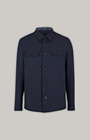 Overshirt Hearts in Navy