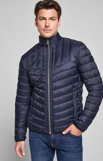 Steppjacke Giaco in Navy