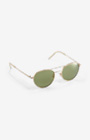 Aviator-Sonnenbrille in Gold