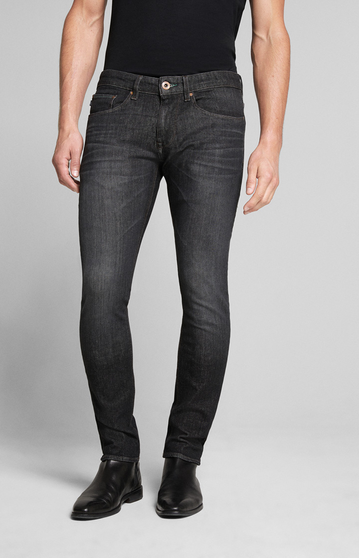 Bi-Stretch Jeans Stephen in Schwarz