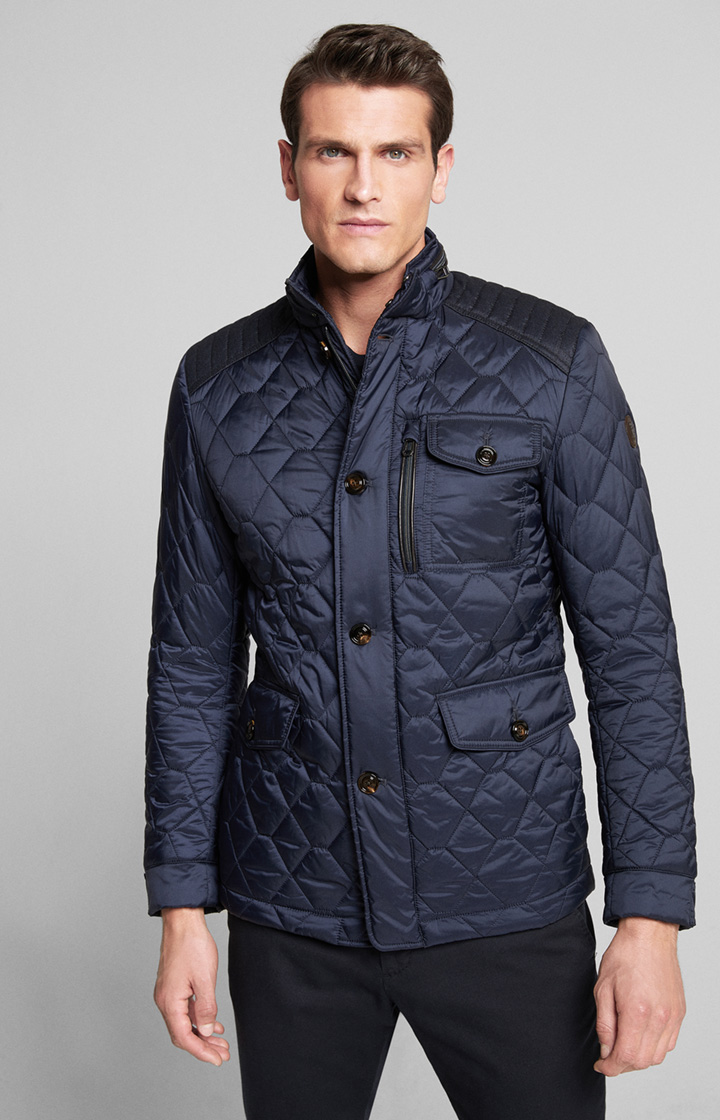 Steppjacke Clintons in Dark Navy