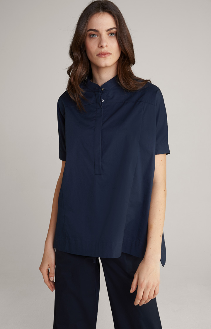 Bluse Banu in Navy