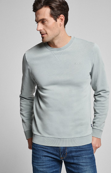 Sweatshirt Palmiro in light Grün