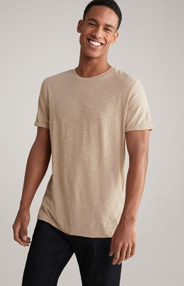 T-Shirt Linaro in Hellbeige