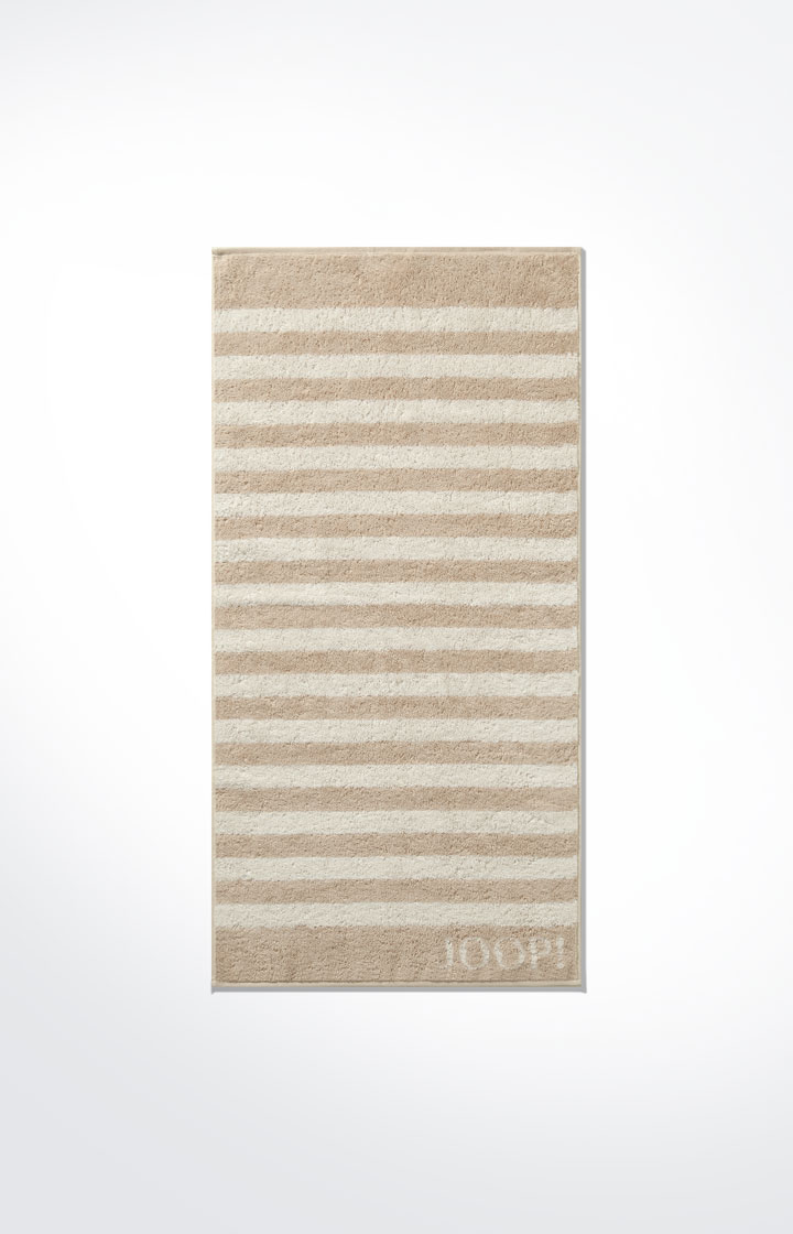 Image of Duschtuch Classic Stripes, Sand