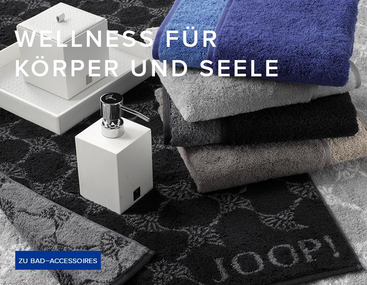 joop living collection wellness f r ihr zuhause. Black Bedroom Furniture Sets. Home Design Ideas