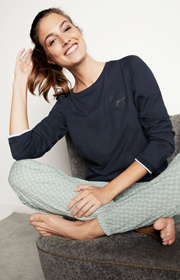 Loungewear Longsleeve in Navy