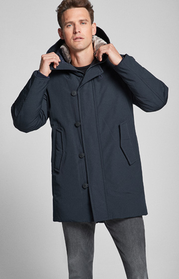 Parka Foster in Navy