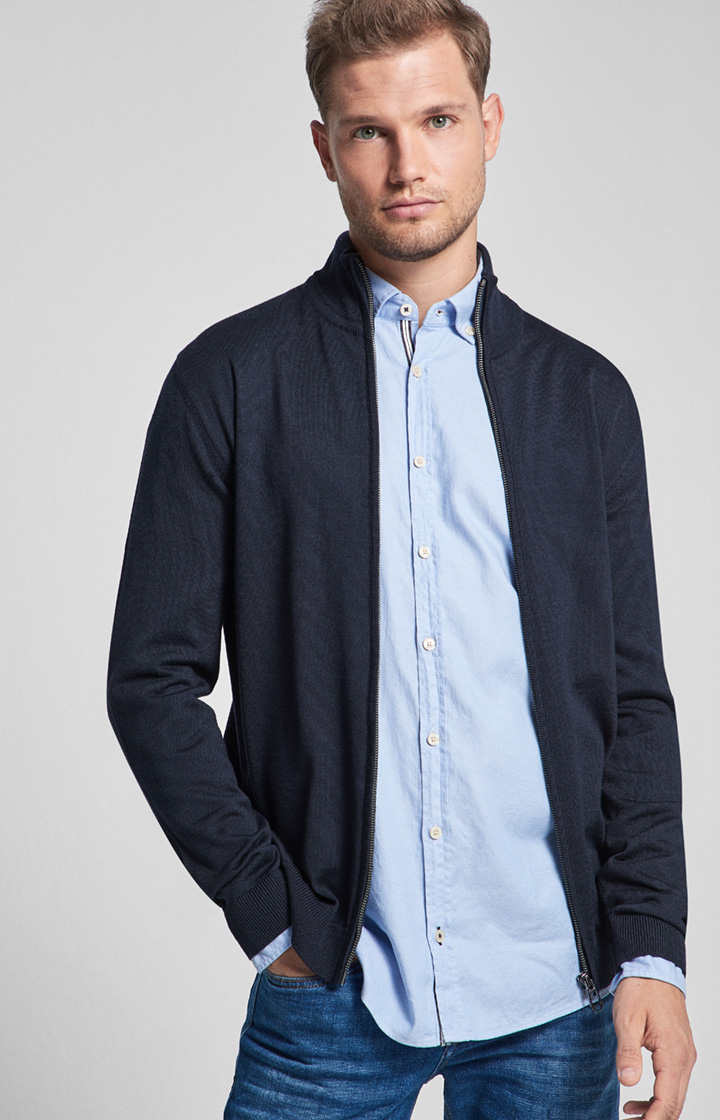 Cardigan Davis in Navy