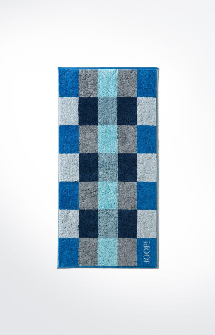 joop handtuch plaza squares joop blau g nstig schnell einkaufen. Black Bedroom Furniture Sets. Home Design Ideas