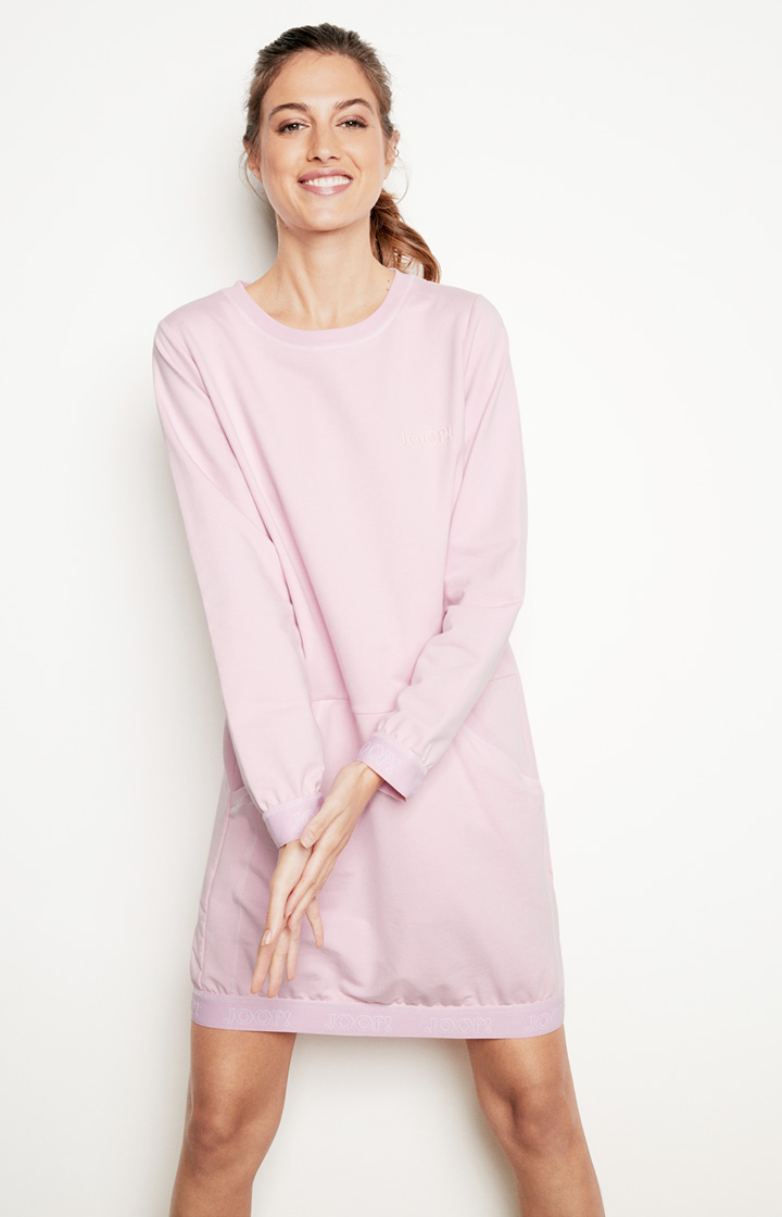 Loungewear Kleid in Rosa