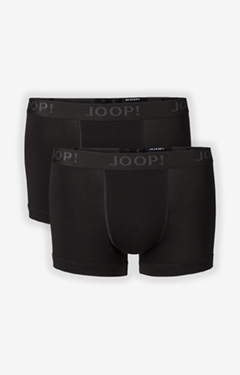 2er-Pack Fine Cotton Stretch Boxer in schwarz