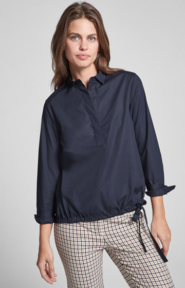 Bluse Bali in Navy