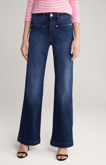 Jeans mit Schlag Rayne in Washed Blue