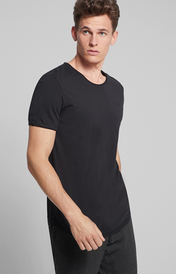 T-Shirt Clark in Schwarz