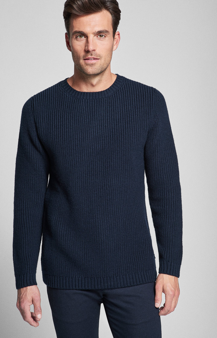 Strickpullover Ned in Navy