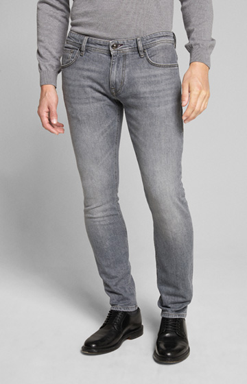Jeans Hamond in Hellgrau