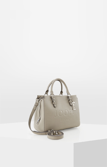 Handtasche Lettera Peppina in Taupe