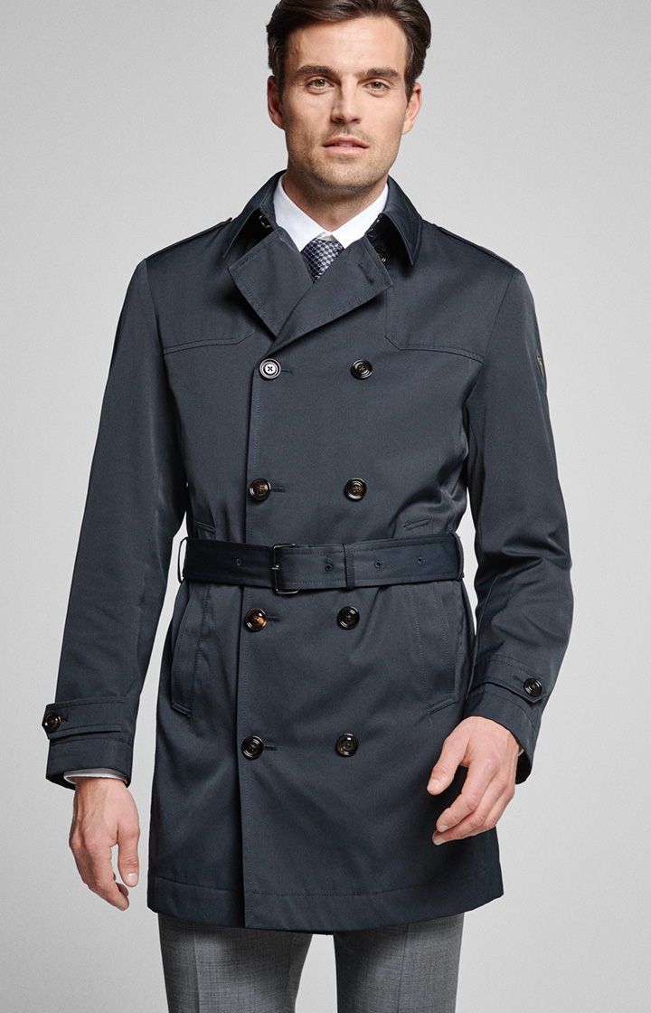 Trenchcoat Medox in Navy