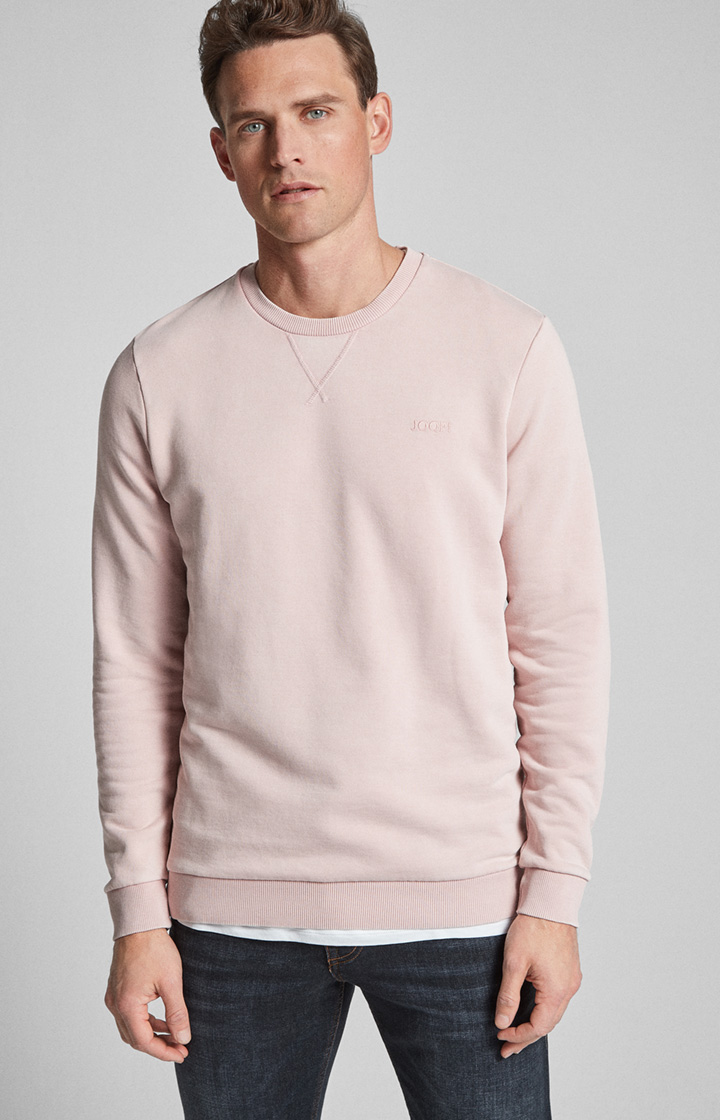 Sweatshirt Palmiro in Rosé