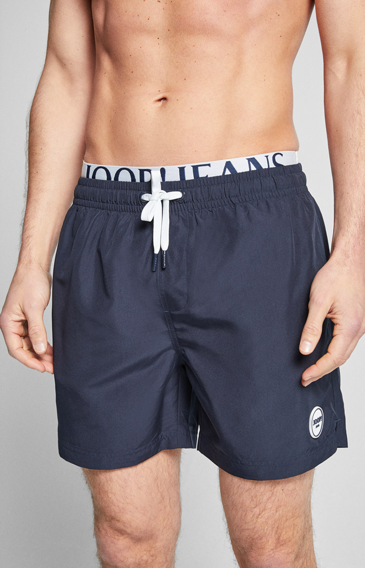 Badeshorts Long Beach in Blau