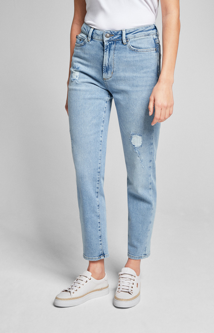 Jeans Lucie in Washed Hellblau