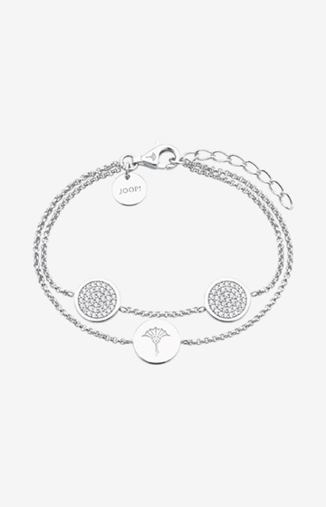 Armband mit Zirkonia in Silber