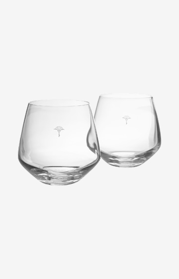 Wasserglas Single Cornflower - 2er Set